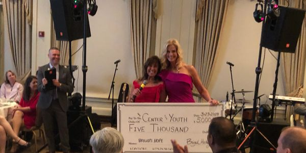 Brigid's Hope donates $5000 to sponsor 4 students at CFY Gala