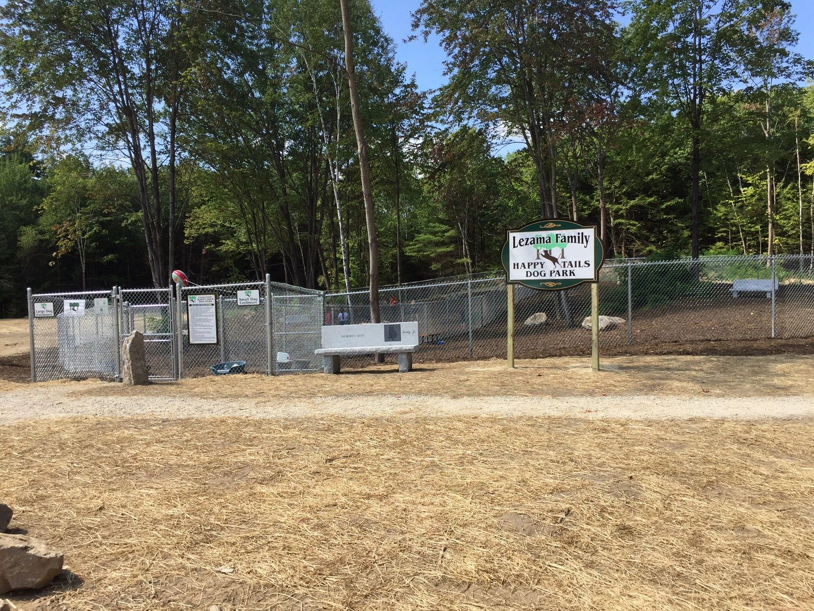 Lezama Family Happy Tails Dog Park Laconia NH