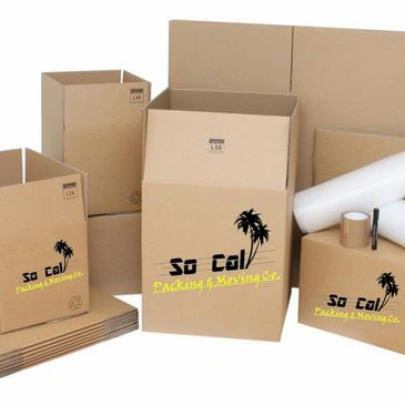 So Cal Packing & Moving packing supplies and packing labor