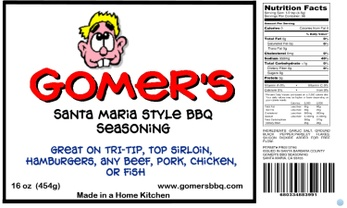 GOMER'S BBQ SEASONINGS