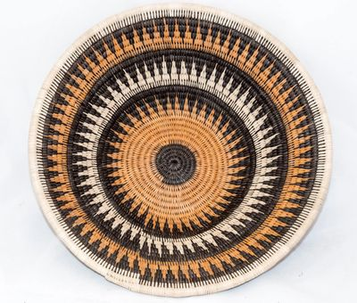 Botswana Basket - Roof of the Rondavel Design - Made by Mashinga Thomas