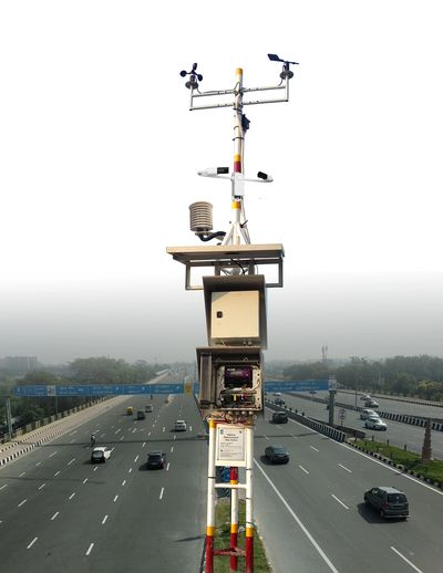 Road weather station, highway weather, meteorological data station, met station HTMS, ITS