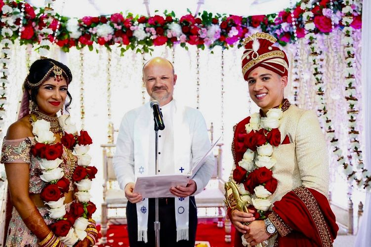 Officiating a combined Hindu-Catholic wedding