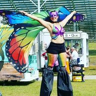 Festival Dress up costume hippiefest bonnaroo