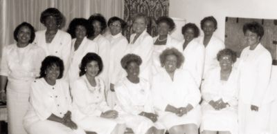 Charter Members of Omicron Kappa Zeta Chapter