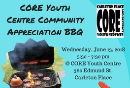 Please join us on June 13th from 5:30-7:30 for a free BBQ provided to our community by our staff and
