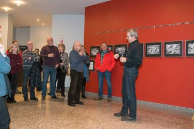 Vernissage au Centre culturel du mont-Jacob le 1er mars 2018