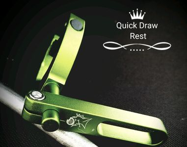 Quick Draw Arrow Rest  NOW in Green &  Black