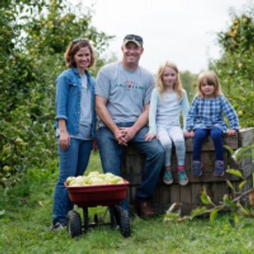 Clarke Family, Organic Apples,