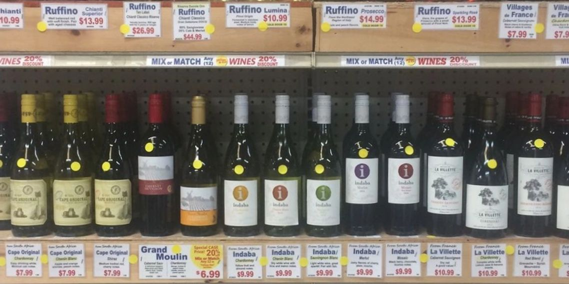 Yellow Dot Wine Special - 20% Off 12 750ml Bottles