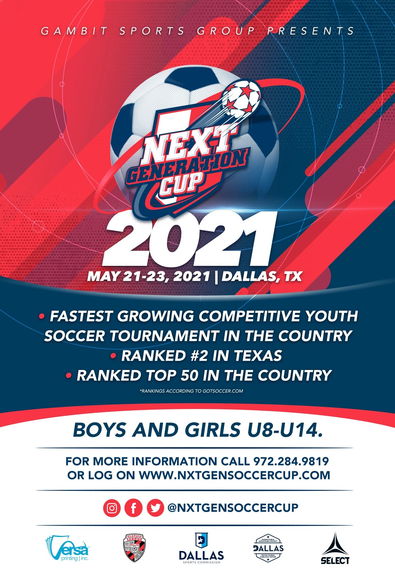 Next Generation Cup 2021 :