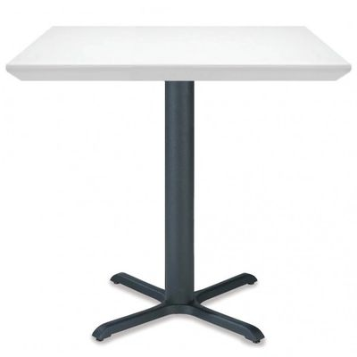 A White Solid Surface Restaurant Table Top