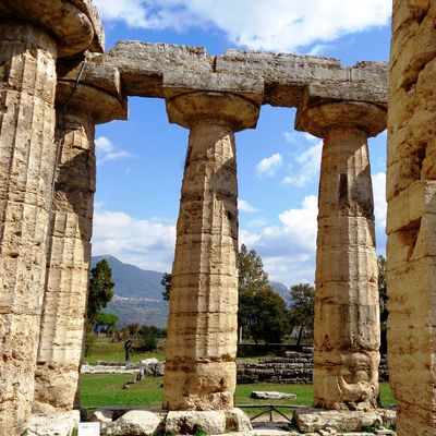 An exhilarating visit to ancient Greek Temples from 2500 BC.