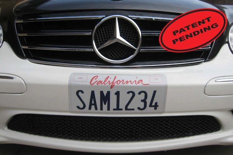 License Plate Wrap
