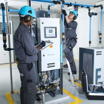 Compressed Air System Installation
