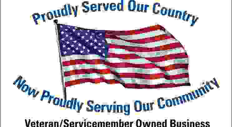 Veteran owned. We served proudly