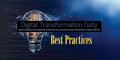 Digital Transformation Daily provides insights and best practices by thought leaders.