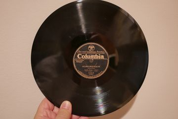 "custom made 10"" 78rpm victrola gramophone record for wind-up phonograph one-off"