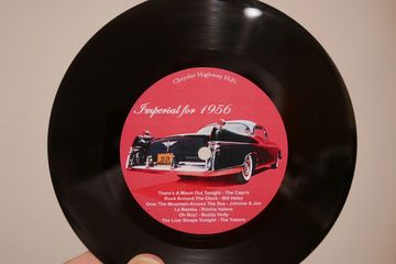 Chrysler highway hifi 16rpm vinyl record one-off lathe-cut custom made