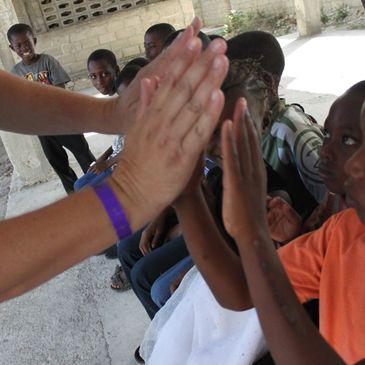 Matthew 4:16 Ministries team  works with  families and youth in communities around the world.