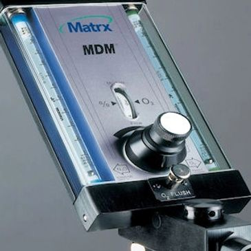 Matrx MDM 20050 Analog flow meter with auto-compensation flow stays consistent as percentage adjusts