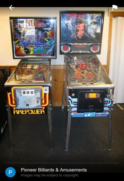Sales and service of arcade games