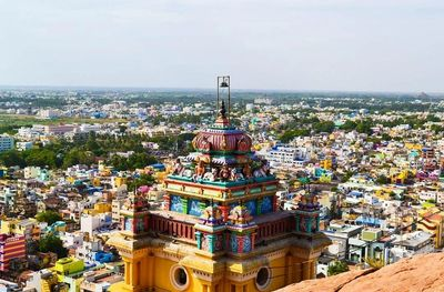 Visit Rockfort temple in Tiruchirappalli in Tamilnadu by Uvamai