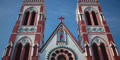 The Basilica of the Sacred Heart of Jesus - Pondicherry