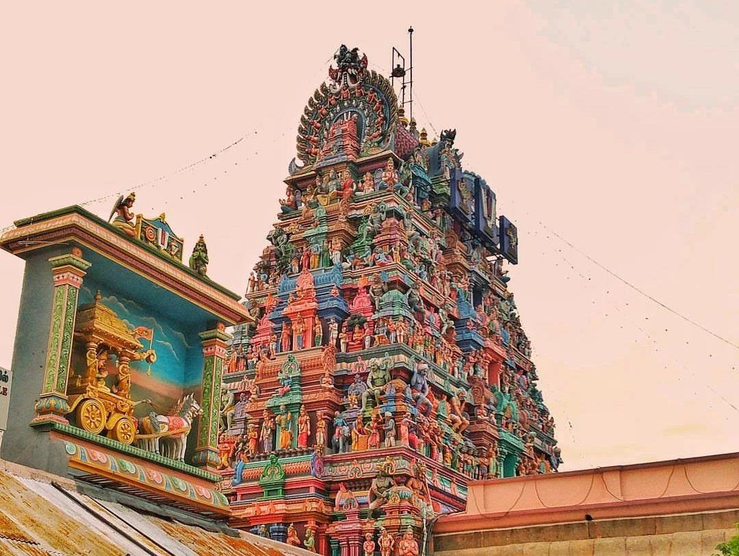 Parthasarathy Temple in Chennai Tamil Nadu