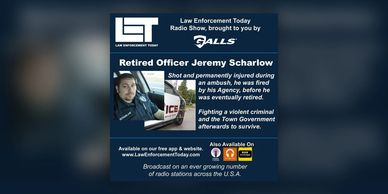 LET Law Enforcement Today Radio Flyer