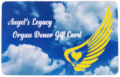 The Angel's Legacy Organ Donor Gift Card