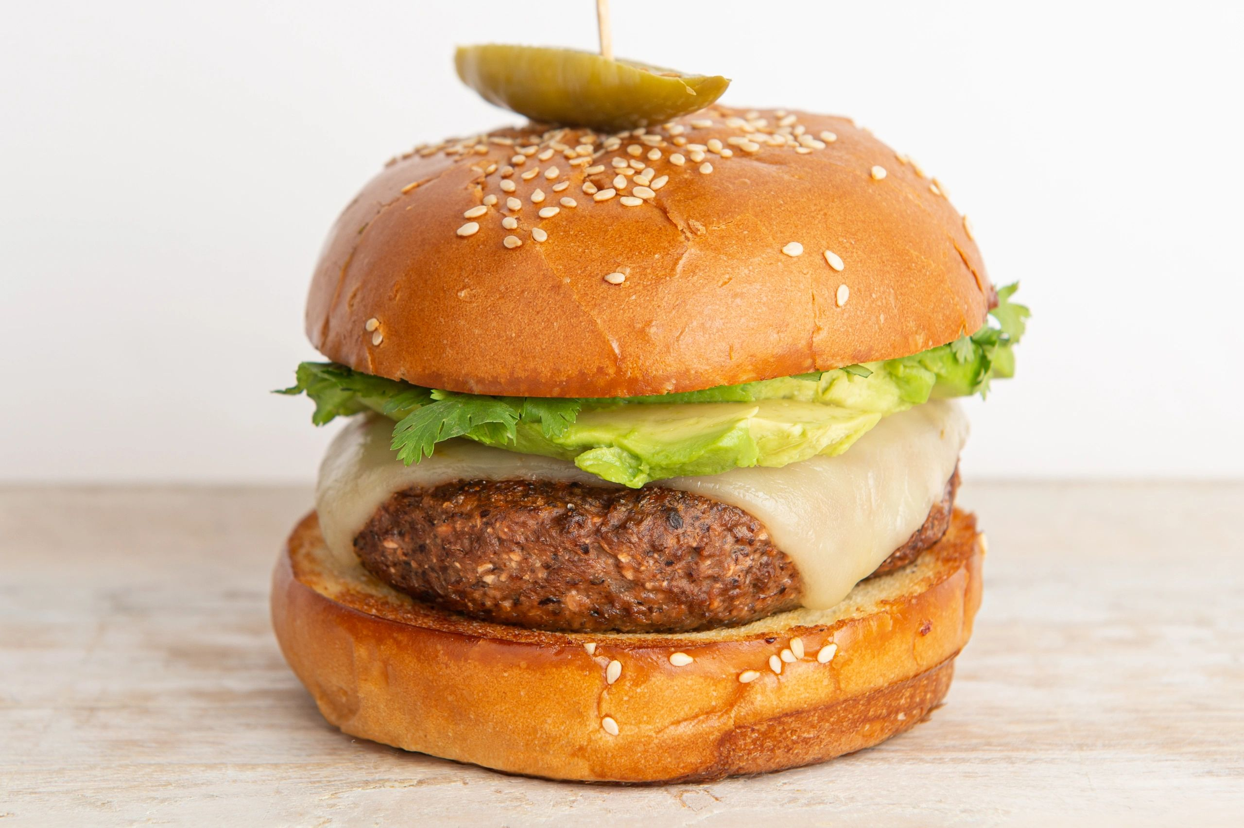 Nutritious pescatarian and flexitarian burger alternative with ocean-based protein