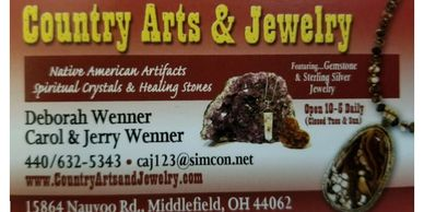 Country Arts & Jewelry Store