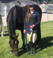 Another excellent performance Champions Tori Witworth and Carpricco