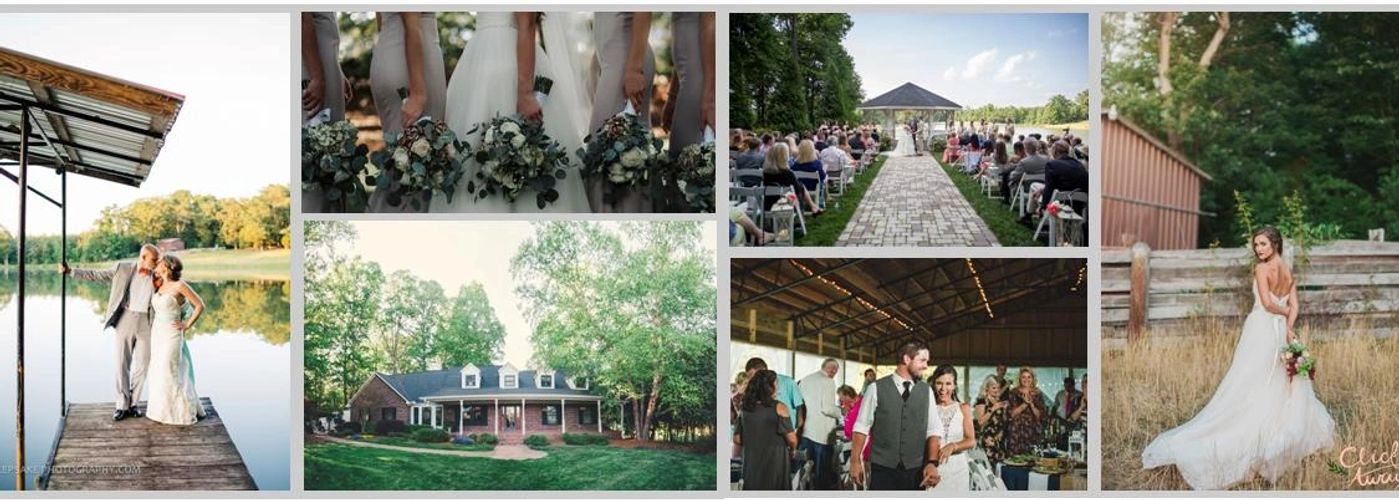 The Oaks Events Midland, NC outdoor wedding venue near Charlotte, NC