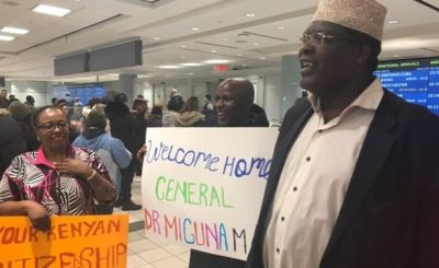 Miguna gets warm welcome in Toronto