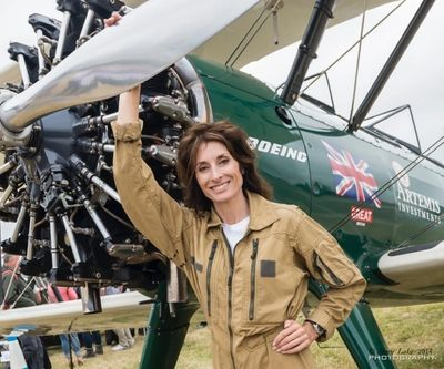 Tracey Curtis-Taylor -  aviator