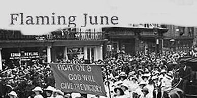 Flaming June presents the Women's Battalion, a song celebtraing womens suffrage