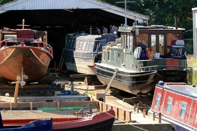 The slipway at 4 All Marine boat yard