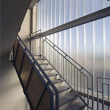 Pilkington Profilit by Glass Profiled Solutions - Pilkington Profilit Staircase