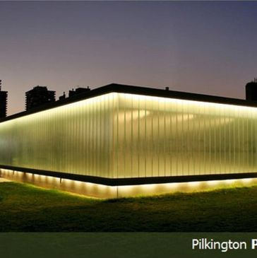 Glass Profiled Solutions - Pilkington Profilit Illuminated