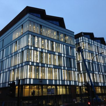 Glass Profiled Solutions - Hallam University