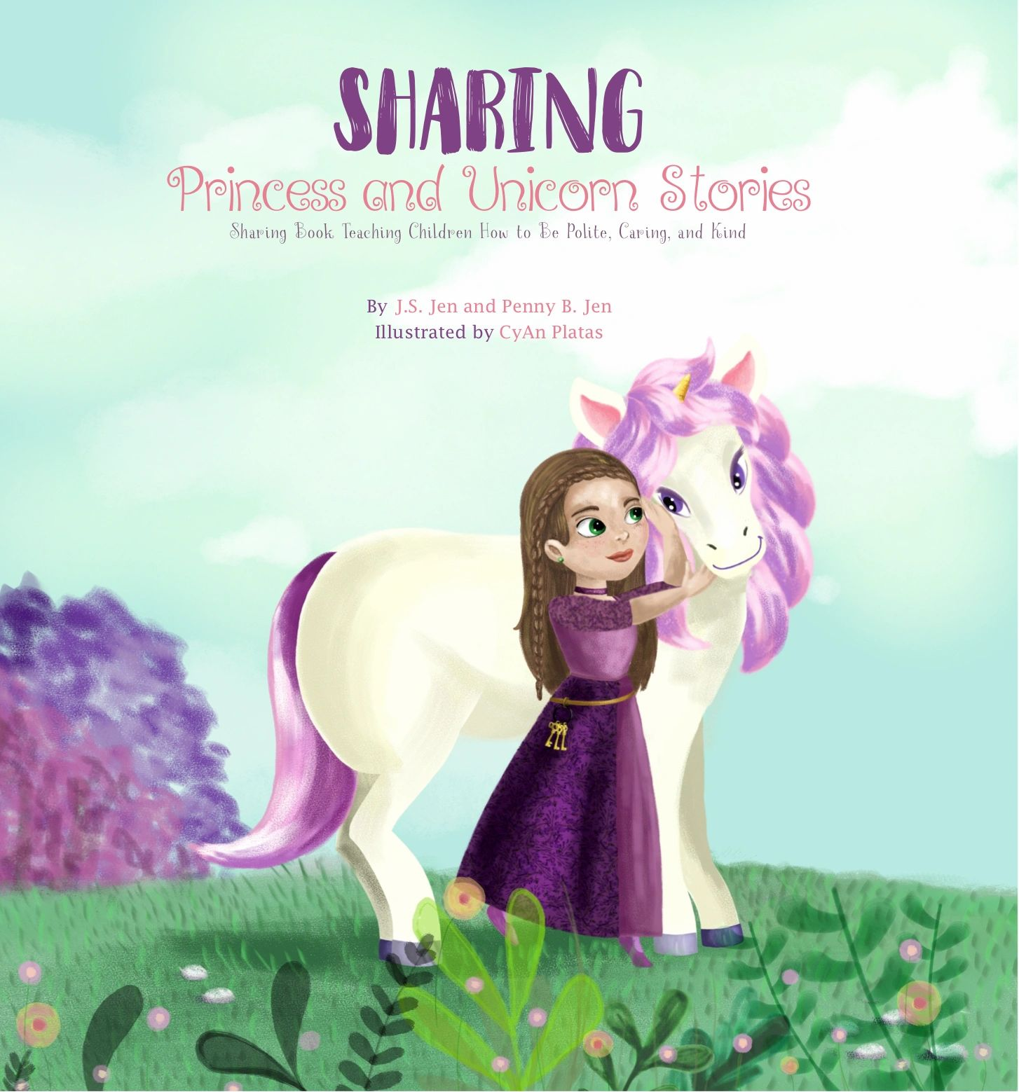 "Cover of ""Sharing: Princess and Unicorn Stories"""