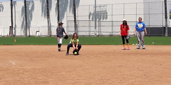 santa monica softball academy fielding