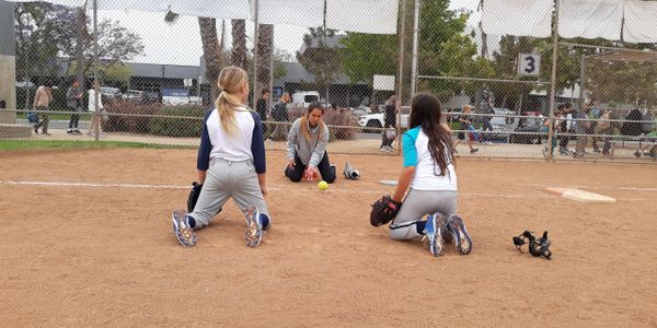 santa monica softball academy middle infield training