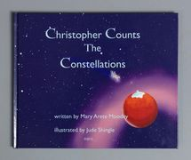 Cover design shows Christopher & Pegasus leaping into space