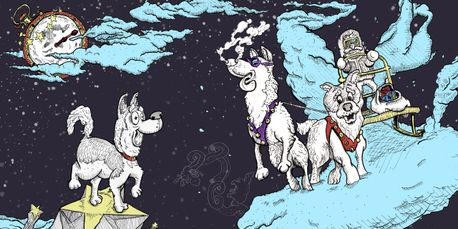 Sheldon's Dream from Sheldon and the Hot-Nosed Husky