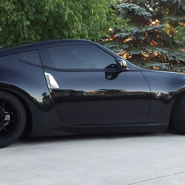 Jack MacDonnell Nissan 370Z modified and detailed
