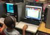 Ms. Wooten's students from Seminole Elementary School engaged in learning using Footsteps2Brilliance.