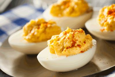Garlic Capital Products® Deviled Eggs